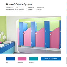 Brecon® Cubicle System