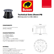 Technical Datasheet PB3 90-145mm
