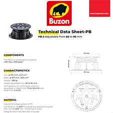 Technical Datasheet PB2 60-90mm