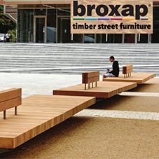 Broxap timber street furniture