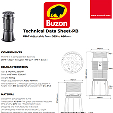 Technical Datasheet PB7 365-480mm