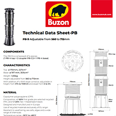 Technical Datasheet PB9 560-715mm