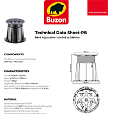 Technical Datasheet PB4 145-245mm