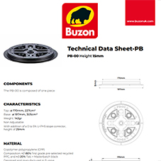Technical Datasheet PB-00 15mm