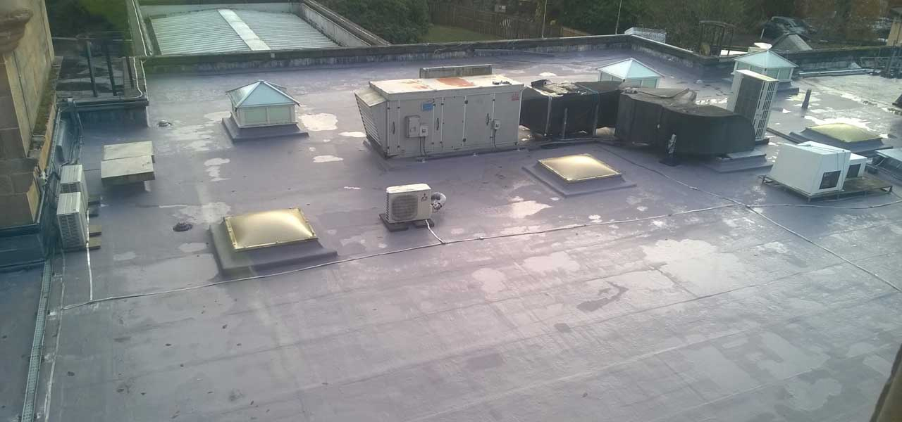 Polyroof waterproofing solution at Scottish 5 Star Hotel