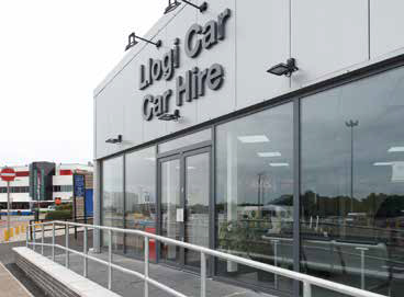 Hadley Group products chosen for Cardiff airport