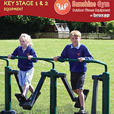 Sunshine Gym KS1 & 2 Outdoor Fitness Equipment