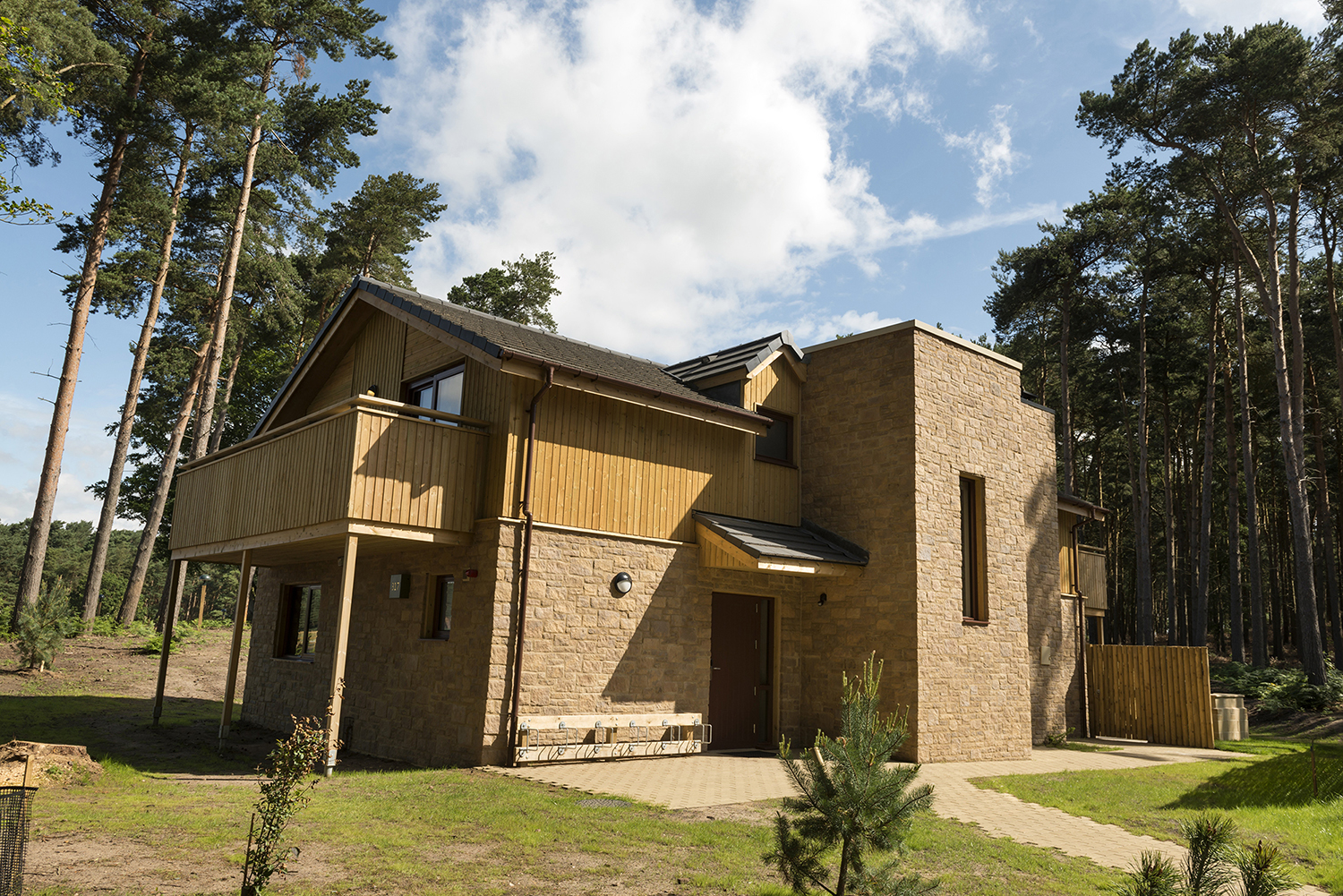 Sustainable stone blocks for picturesque Center Parcs project