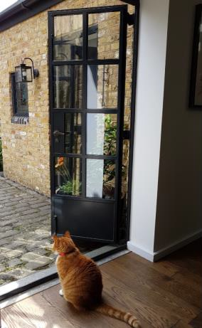 Coach house transformed into home with Clement steel doors and windows