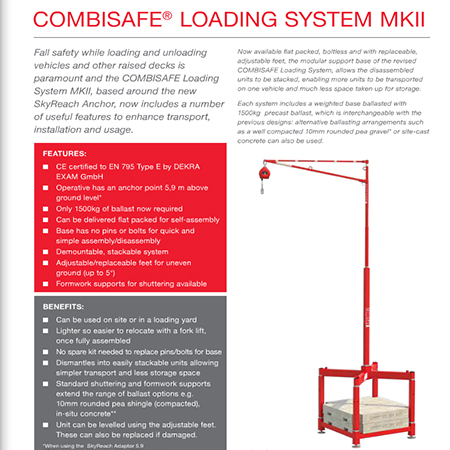 COMBISAFE® Loading System MkII