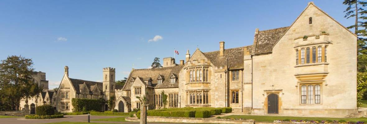 Bradstone Conservation roofing slates for luxury Cotswolds Hotel