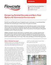 Polished concrete whitepaper