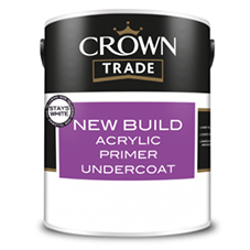 Crown Trade New Build Acrylic Primer Undercoat Data Sheet