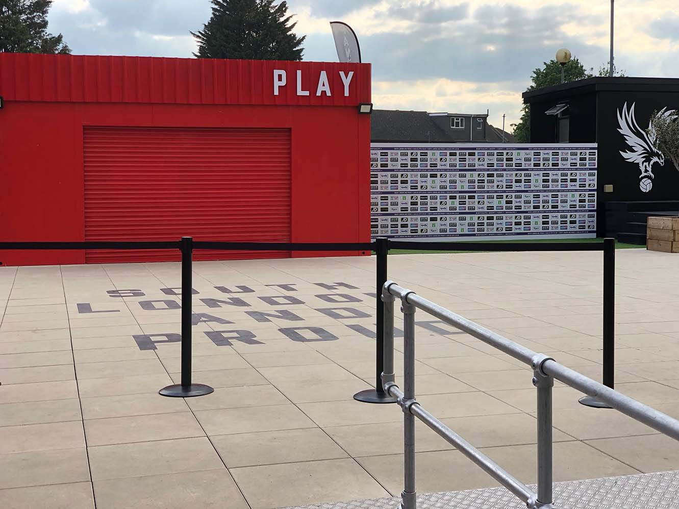 DPH Pedestal system for Crystal Palace Football Club