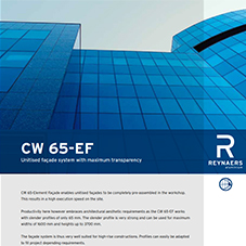 CW 65-EF Unitised Curtain Walling
