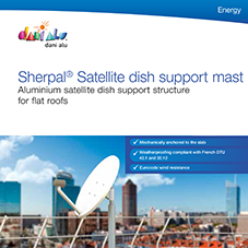 Sherpal® Satellite dish support mast
