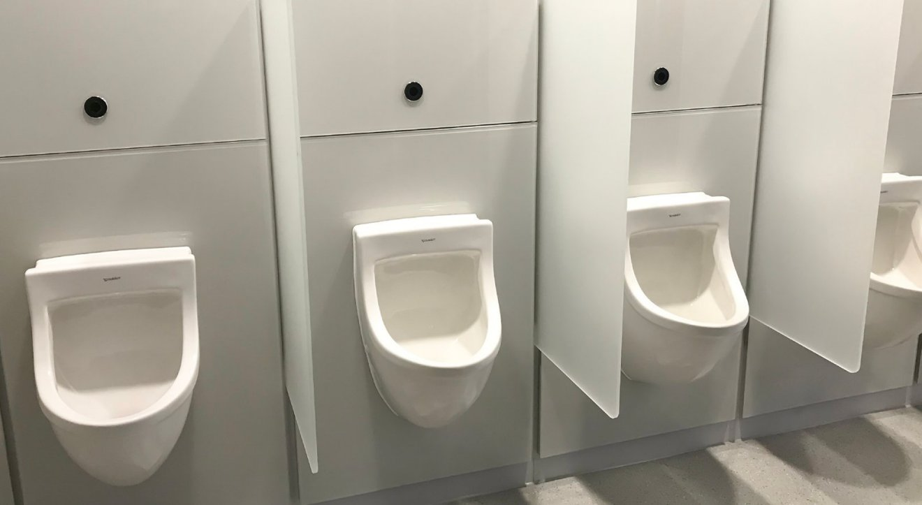 Innovative washroom systems for Tottenham Hotspur Stadium