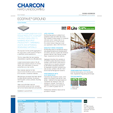 EcoPave® Ground Tech Data Sheet