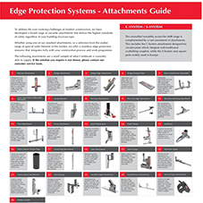 COMBISAFE Edge Protection Systems - Attachments Guide