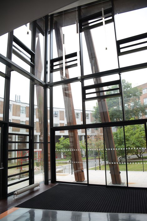 FLW 40 System ensures natural ventilation for Student Hub