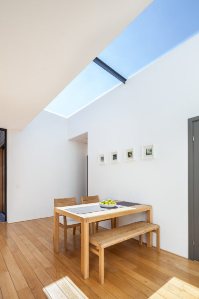 Glazing Vision's fixed rooflights for restricted spaces