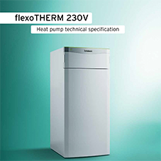 flexoTHERM 230V Heat pump technical specification
