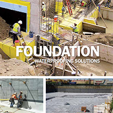 Foundation Waterproofing Solutions Brochure