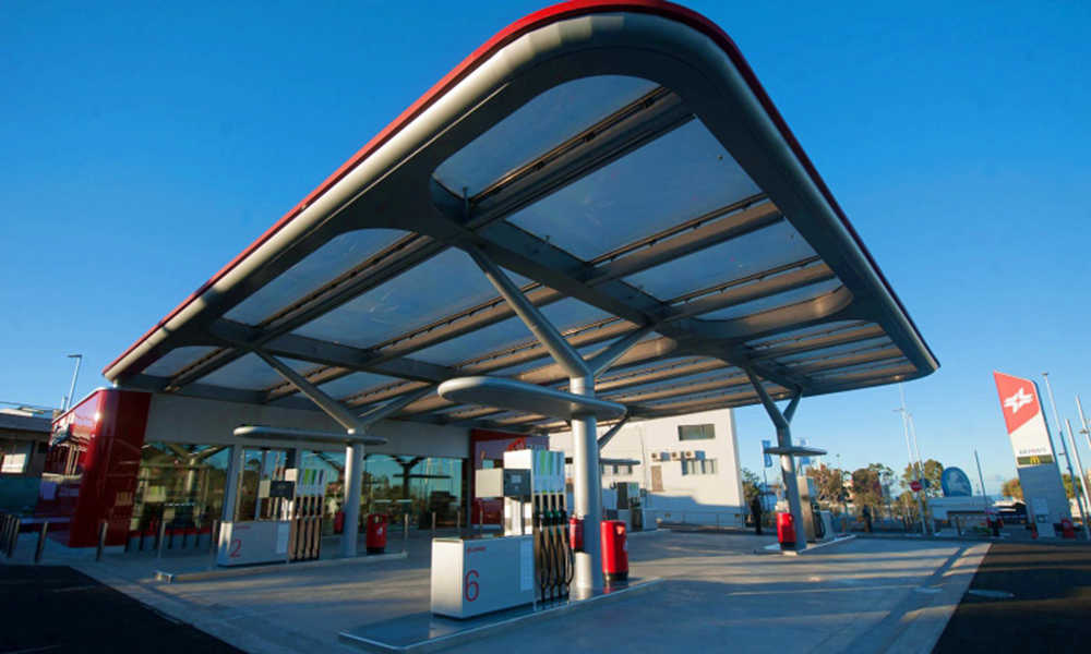 GammaStone AIR clads Cepsa flag service stations in Tenerife
