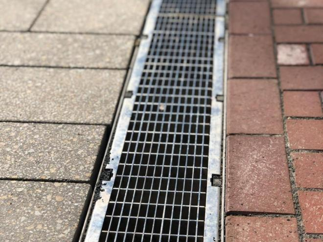 MULTIV+ drainage system for historical square of Rheinberg