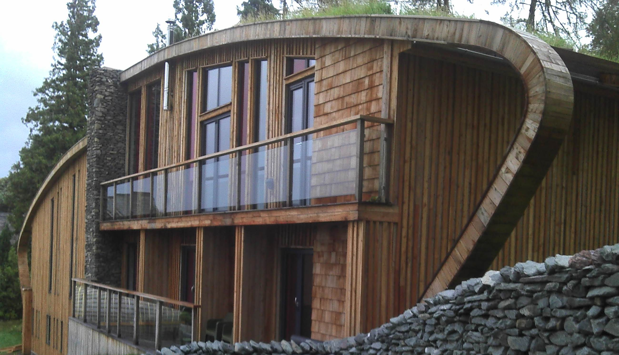 The Protec system waterproofs Grand Designs development