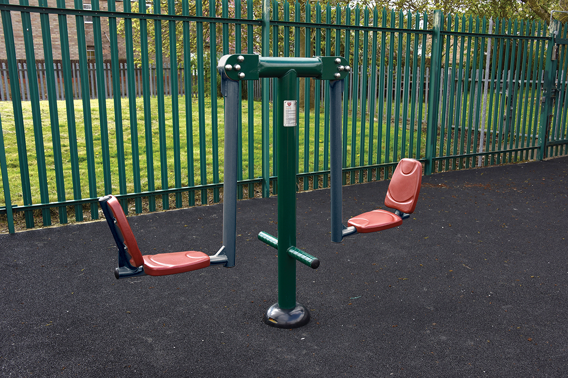 Outdoor Gym Equipment ensures fun for pupils