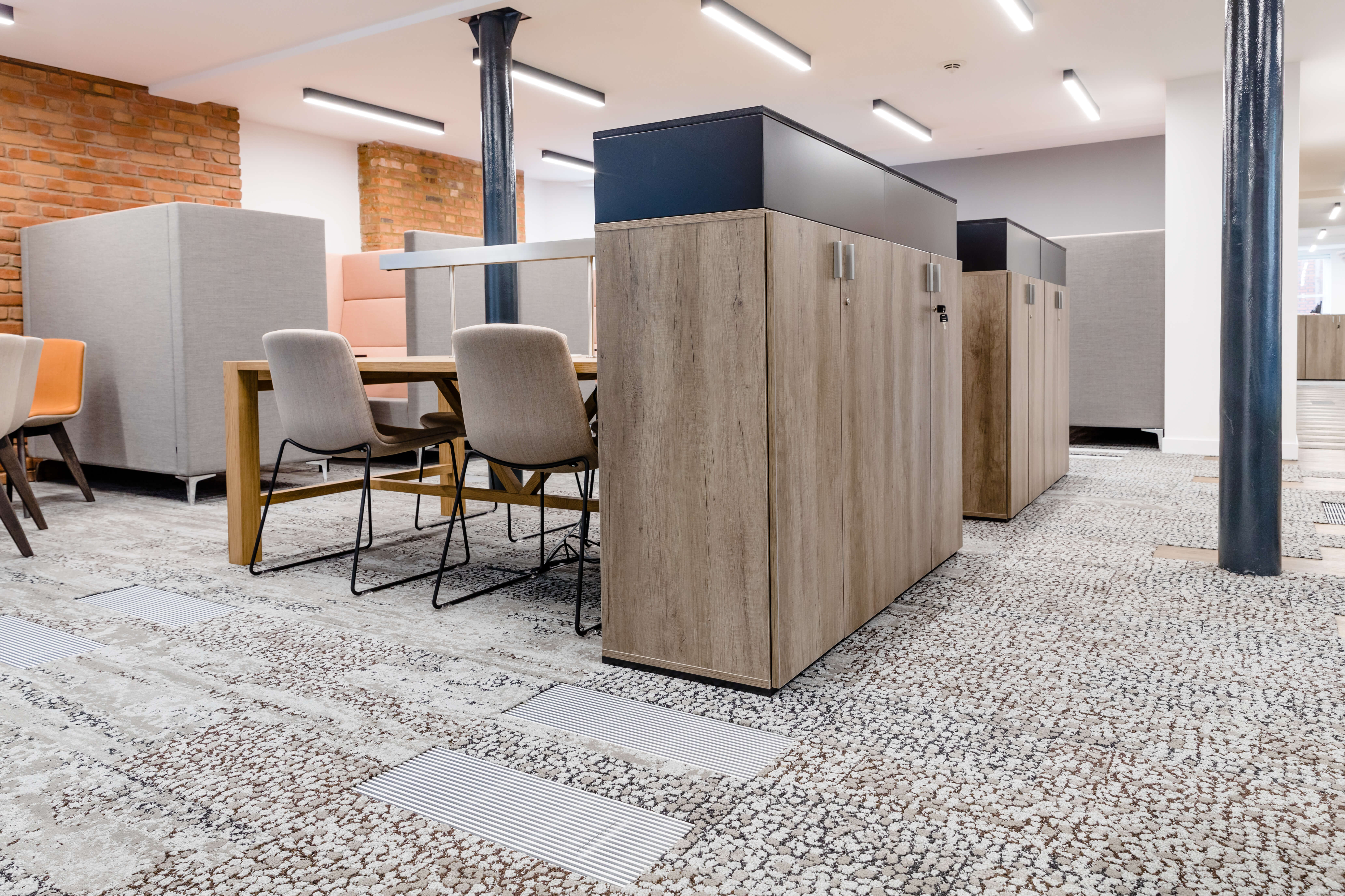AET Flexible Space products for TSSA headquarters