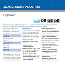 Highpave® Tech Data Sheet