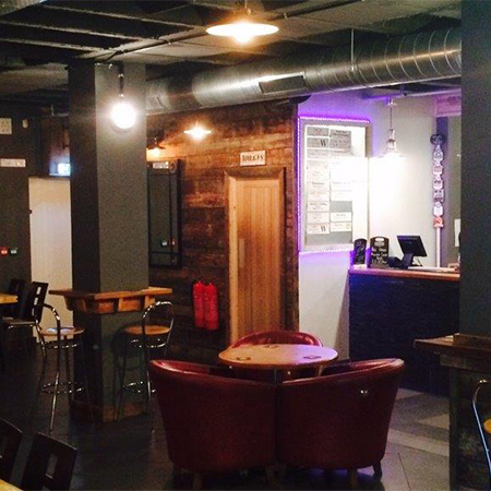 Newton products used in a Cardiff centre bar conversion