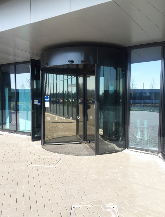 record UK create modern entrances for educational redevelopments