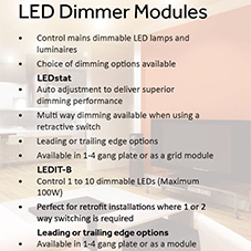 LED Dimmer Modules