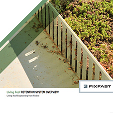 Living Roof Retention System Overview