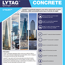 Lytacrete Tech Data Sheet