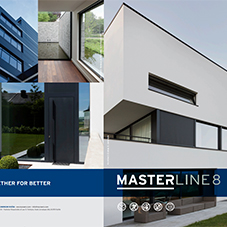 MasterLine 8 next generation aluminium window