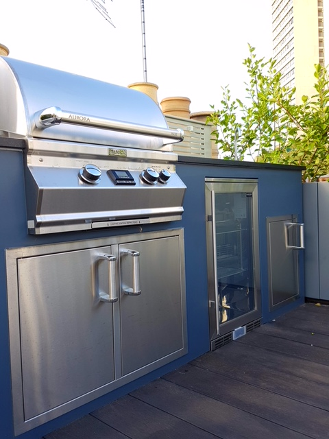 MEDITE® TRICOYA® EXTREME helps create stunning BBQ area
