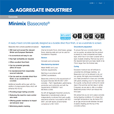 Basecrete® Tech Data Sheet