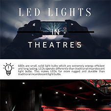 LED lighting in theatres [INFOGRAPHIC]