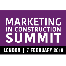 Special subscriber's offer to the Marketing in Construction Summit 2019
