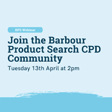Webinar - Join the Barbour Product Search CPD Community