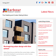 The Cladding and Curtain Walling Edition: Re-imagining urban design | Uniting form with function
