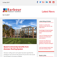 Warm roof system for new social hub at Queen's University | Versatile architectural cast stone