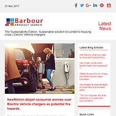 The Sustainability Edition: Sustainable solution to London's housing crisis | Electric Vehicle chargers