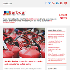 Fire Protection Hub launched | Hackitt Review drives increase in checks and compliance in fire safety