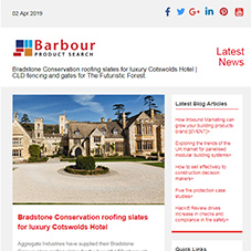 Bradstone Conservation roofing slates for luxury Cotswolds Hotel |  CLD fencing and gates for The Futuristic Forest