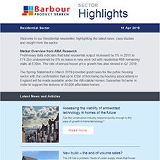Residential Sector Highlights | Latest insight, articles and more
